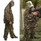 2 Pieces Ghillie Suit Woolland 3D Leaves Camo Camouflage Forest Hunting RR6 01