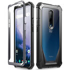 OnePlus 7 Pro Rugged Clear Case, Poetic Full-Body Hybrid Shockproof Bumper Cover