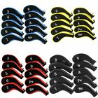 10x Neoprene JL Golf Club Covers Headcovers Head Cover Iron Protect Set 5 colors