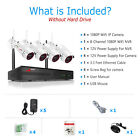 ANRAN WiFi Wireless Security Camera System 1080P Outdoor with 1TB HardDrive CCTV