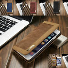 Magnetic Flip Canvas Wallet Card Stand Case Cover For Samsung S7 S8 S9+/Note 9