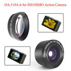 180° Fisheye Effect /15X Macro Lens Filter For DJI OSMO ACTION Sports Camera