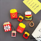 3D Cartoon Fries Mike Bear Dog Earphone Airpods Charge Case Cover For Airpod 1 2 £4.49  on eBay
