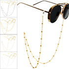 Women Eyeglass Chain Sunglasses Reading Beaded Glasses Chain Eyewear Rope 70cm image