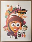 """Rare Limited Edition """"Nickelodeon Creators"""" Posters - Iconic Shows - You Choose"""