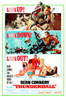 Thunderball - James Bond 007 - poster print $12.5 USD on eBay