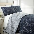 Vilano Choice Botanical Forest Reversible Quilt Set