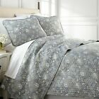 Infinite Blossom Reversible Lightweight Quilt Set image