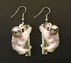 Animal Earrings - Sloth, Koala, Panda, Giraffe, Alpaca, Turtle, Elephant, Dolphi