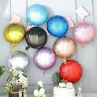 12-Inch wide 4D Round Balls Orbs Mylar Foil Balloons Party Wedding Decorations