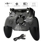 4 In 1 Mobile Phone Game Controller Joystick Cooling Fan Gamepad for Android IOS