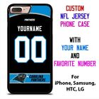 CAROLINA PANTHERS JERSEY NFL Custom Phone Case Cover for iPhone Samsung Galaxy $15.9 USD on eBay