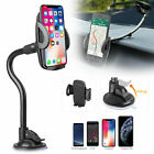 360° Cell Phone Holder For Car Dashboard Windshield Long Arm Phone Mount Stander