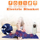 220V Electric Blanket Heated Throw Soft Winter Warm Heated Pad  image