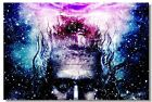 Poster Psychedelic Trippy Colorful Ttrippy Surreal Abstract Astral Art Print 50