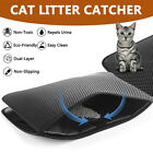 88AA Black/Grey Cats Litter Trapper Cat Litter Pad Waterproof Pet Supplies