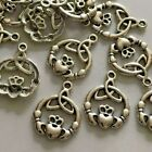 Tibetan Silver charms pendants jewellery card making crafts antique colour LOT 2
