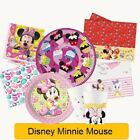 Disney MINNIE MOUSE Birthday Party Ranges - Tableware Supplies Decorations
