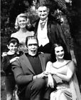 149187 The Munsters Family Black and White Wall Poster Print UK