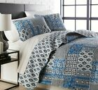 Premium Collection Global Patchwork Reversible Oversized Lightweight Quilt Sets image