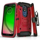 for MOTOROLA MOTO G7 PLAY/POWER/SUPRA/OPTIMO/MAXX [Tank Series] Phone Case Cover