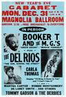 Booker T and the MGs concert poster print