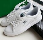 PUMA COURT STAR VULC WHITE GREEN MEN'S SHOES TRAINERS LEATHER SHOES