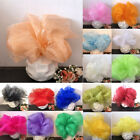 5Meter/lot Crystal Organza Tulle Chair Sashes Sheer Wedding Party Decoration New