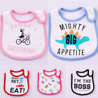 Reusable Baby Bibs Feeding Cartoon Cotton Absorbent Burp Cloth Baby Towel