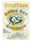 Green Bay Packers - Titletown - poster print $12.5 USD on eBay