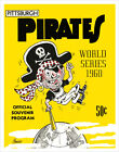 Pittsburgh Pirates 1960 World Series Program - poster print on Ebay
