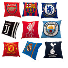 OFFICIAL FOOTBALL CLUB - Printed Filled CUSHIONS - All Clubs - 40cm x 40cm
