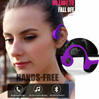 New Wireless Bone Conduction Bluetooth Headphones 5.0 Earphone Outdoor 4 Color