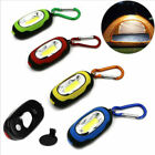 Portable Mini LED Light Torch Keychain Flashlight Outdoor Camping Lamp Carabiner