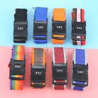 Long Luggage Suitcase Baggage Cross Strap Belt & Secure Coded Lock Travel Use