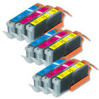 Color Ink Cartridges For CLI-251XL Canon Pixma MX920 MX922 MX722 MG6420 iX6820