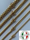 Kyпить Miami Cuban Link Chain Or Bracelet 14k Gold Over Solid 925 Silver Box Lock ITALY на еВаy.соm