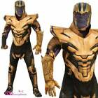 Mens Thanos Deluxe Costume Official AVENGERS ENDGAME Adult Fancy Dress Outfit