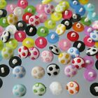 Football Shaped Buttons- Soccer Sports Kids Coat Sewing Shank Button 13mm- HD051