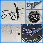 NWT Kids JULIUS ERVING Dr. J Silhouette Player Graphic 76ers White Youth TShirt on eBay
