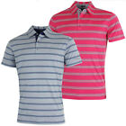 Bobby Jones Mens XH20 Wren Heather Stripe Polo Shirt