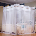 4 Corners Mosquito princess Net Bed Canopy with Stainless Steel Frame All Size image