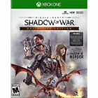 Middle-Earth: Shadow of War - Definitive Edition Xbox One Brand New FREE SHIP