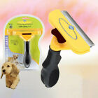Deshedding  Dog Pet Cat Hair Shedding Trimmer Grooming Rake Comb Brush ME