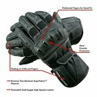 POLARIS Leather Touring Gloves with Reinforced Heel and Hard Knuckle Protectors $19.99 USD on eBay