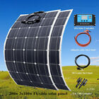 100W/200W 12V Flexible Solar Panel Cell Kit for Boat Home Caravan battery Charge, used for sale  Shipping to South Africa