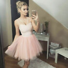 Sexy Women Formal Wedding Bridesmaid Evening Party Ball Prom Tutu Cocktail Dress