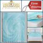Reversible Orthopedic 5 Support Zone Foam Mattress Topper 4 Inch Top Cushion NEW image