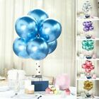 12-Inch Chrome Metallic Latex Helium Air Balloons Party Events Decorations Sale