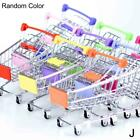 1pc Mini Shopping Cart Supermarket Handcart Shopping Utility Cart Mode Toys